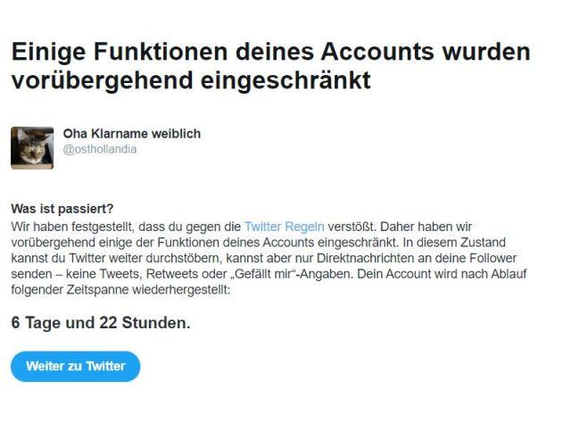 Twitter-Knast